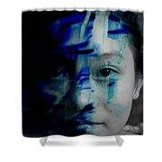 Free Spirited Creativity Shower Curtain