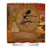 Free To Be Me Shower Curtain