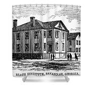 Freedmen School, 1868 Shower Curtain