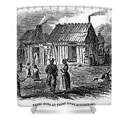 Freedmens Village, 1866 Shower Curtain by Granger