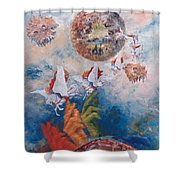 Freedom - The Beginning Of All Being Shower Curtain