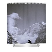 Freedom In The Himalayas In Nepal Shower Curtain