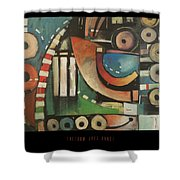 Freedom Jazz Dance Poster Shower Curtain