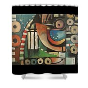 Freedom Jazz Dance Shower Curtain