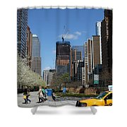 Freedom Tower 3 Shower Curtain