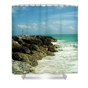 Freeport Coast Shower Curtain