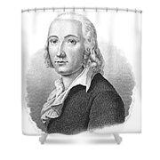 Freidrich H�lderlin Shower Curtain