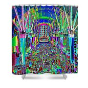 Fremont Street Experience Nevada Shower Curtain