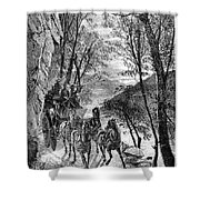 French Broad River, C1873 Shower Curtain