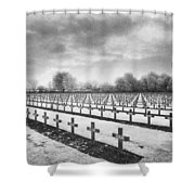 French Cemetery Shower Curtain by Simon Marsden