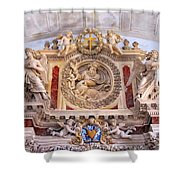 French Church Detail Shower Curtain