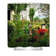 French Cottage Garden Shower Curtain