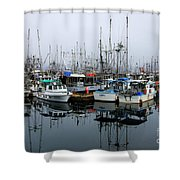 French Creek  Shower Curtain