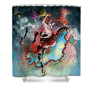 French Kankan Shower Curtain