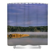 French Lake, Quetico Provincial Park Shower Curtain