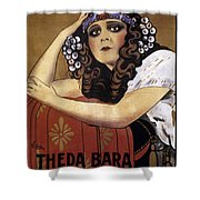 French Poster: Salome, 1918 Shower Curtain