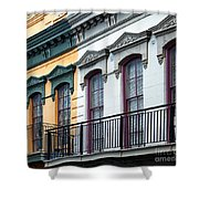 French Quarter Balconies Shower Curtain