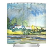 French Village 01 Shower Curtain