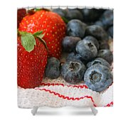 Fresh Berries Shower Curtain