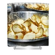 Fresh Potato Chips Shower Curtain