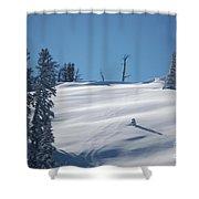 Fresh Powder Shower Curtain