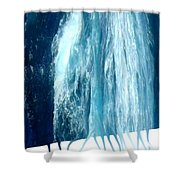 Fresh Water - Ile De La Reunion Shower Curtain