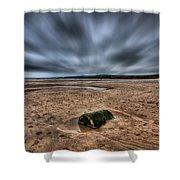 Freshwater West Blur Shower Curtain