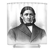 Friedrich Frobel, German Pedagogue Shower Curtain