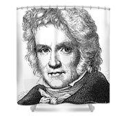 Friedrich Wilhelm Bessel Shower Curtain