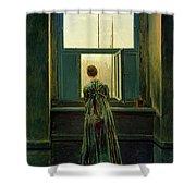 Friedrich Woman 1822 Shower Curtain