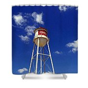 Frisco Texas Water Tower Shower Curtain