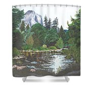 Frog's Eye View Shower Curtain