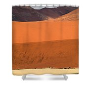 From Afar Shower Curtain
