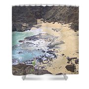 From Here To Eternity Beach Shower Curtain