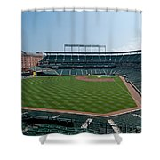 From Left Field Shower Curtain