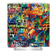 from Sefer Yetzira the letter Lamed Shower Curtain
