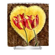 From Tulip With Love Shower Curtain
