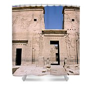 Front Of Philae Wall Shower Curtain