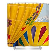 Front Range Color Shower Curtain