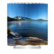 Frost On The Shore Shower Curtain