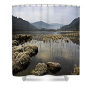 Frosty Winters Morning, Lower Lake Shower Curtain