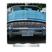 Frowning Buick Shower Curtain