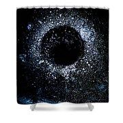 Frozen Cosmos Shower Curtain