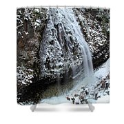 Frozen Narada Falls Shower Curtain
