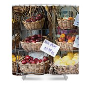 Fruit For Sale Shower Curtain