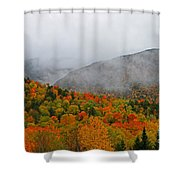 Fruits Loops In Crawford Notch Shower Curtain