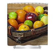 fruits with vitamin C Shower Curtain