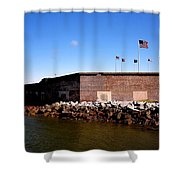 Ft Sumter  Shower Curtain