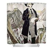 Fukuchi Genichiro Shower Curtain