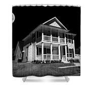 Full Moon Estate Shower Curtain